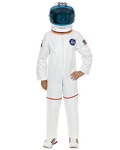 White Astronaut Suit Costume - (Nasa Space Helmet For Sale)