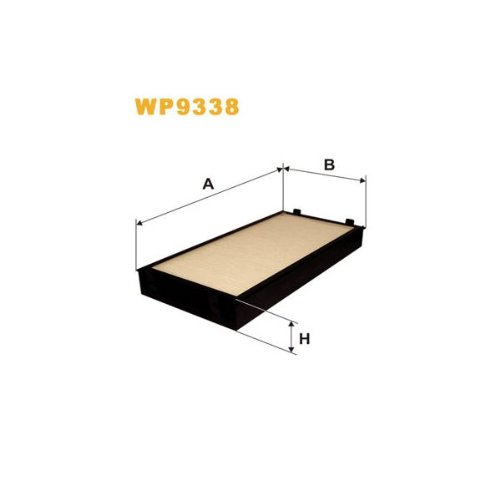 Wix Filters WP9338 Cabin Air Filter: