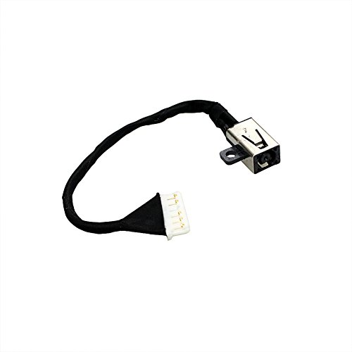 GinTai DC Power Jack w/Cable Replacement for Dell Inspiron i3567-5664 i3567-5185BLK-PUS i3567-5820BLK i3567-5664BLK-PUS i3567-3919BLK 450.09W05.0021 15-3567 FWGMM 0FWGMM 450.09W05.0001
