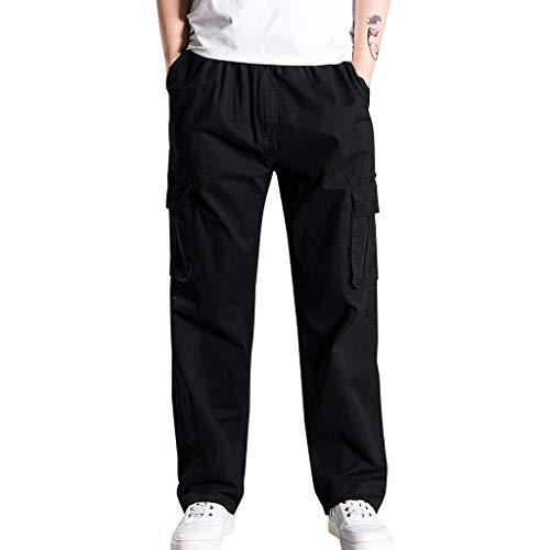 [해외]OMINA Cargo Pants for Men 2019 Fashion Casual Loose Fit Pocket Plus Size Cotton Outdoor Work Black Trousers / OMINA Cargo Pants for Men, 2019 Fashion Casual Loose Fit Pocket Plus Size Cotton Outdoor Work Black Trousers