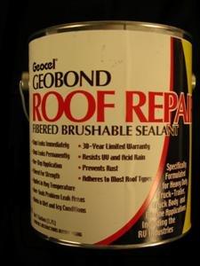 Amazon Com Geocel Geobond Permanent Roof Repair Fibered