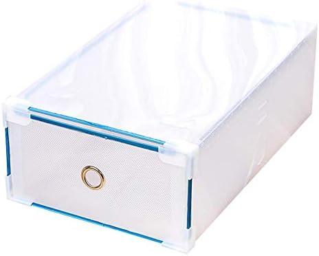 Kardu.C Caja de plástico para Zapatos de Hombre y Mujer, Forma de cajón, Zapatos Gruesos: Amazon.es: Hogar