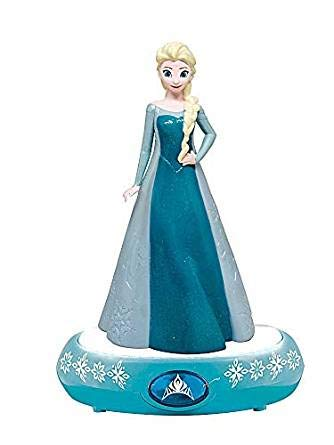 Disney Frozen Elsa Night Light, Blue