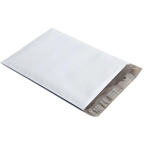Upak 9''x12'' White Poly Mailer Envelopes, Easy Peel, 100 Count …