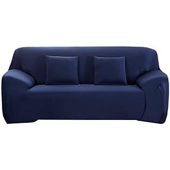 Amazon Com Winomo Sofa Slipcover Black Couch Covers Furniture