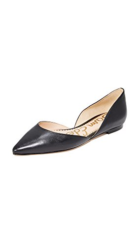 Ballet Black Women's Leather Rodney Sam Flat Edelman pP7qx84