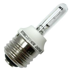 Hybec 02034 - HY40W/E26 120V 2034 Screw Base Single Ended Halogen Light Bulb
