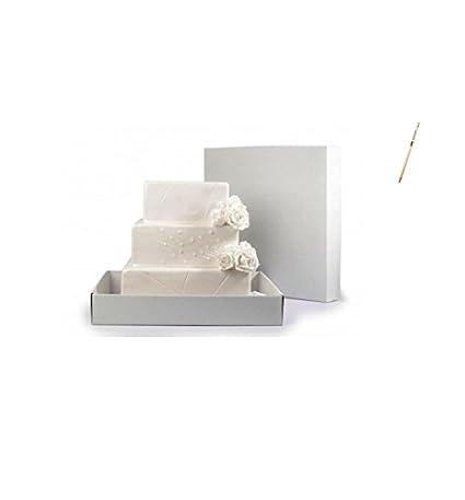 IRPotBoîte pour gâteau à étages en carton, différentes mesures Piccola 30x30x30 cm