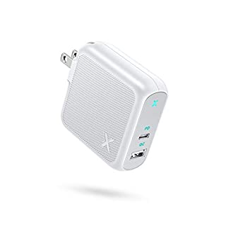 USB C Charger, Xcentz 36W Power Delivery Fast Charger USB-C Power Adapter, 18W PD & QC 3.0 USB-C Wall Charger Compatible with iPhone 12/12 Mini/12 Pro/Max/11 Pro, Galaxy, Pixel, iPad and More, White