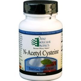 Ortho Molecular Product N-Acetyl Cysteine -- 60 Capsules