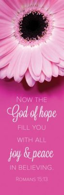 - The God of Hope (Romans 15:13, KJV) Bookmarks (Pack of 25)