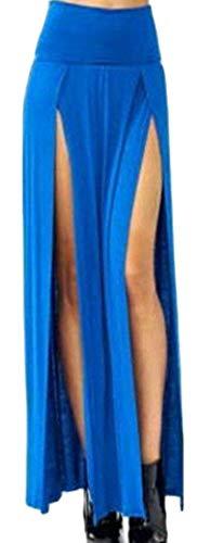 Con Vita Vivaci Home E Girls Colori A Medium Pink Size Blue Sottili Alta Maxi Gonne Dress color x18C8wqH