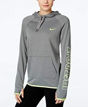 Nike Womens Dry Training Pullover Hoodie Sweatshirt