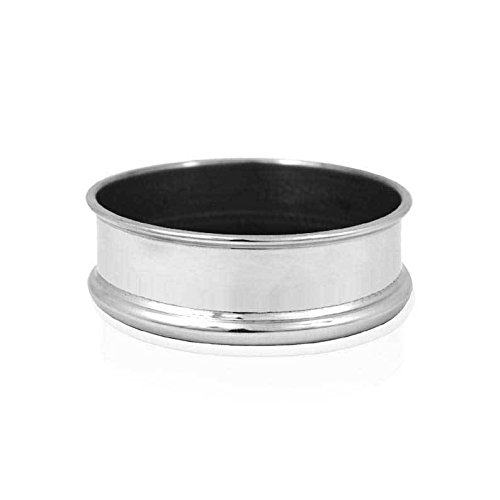 English Pewter Company [WG301] Pewter Wine Bottle Coaster Pewter Wine Coaster