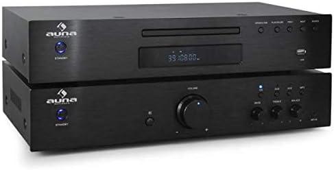 Auna PL-4933-5063 Elegance - Torre Hi-Fi con Amplificador y ...