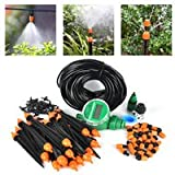 Plant Self Automatic Watering Timer Garden Hose Kits With Adjustable Dripper 25m DIY Micro Drip Irrigation System