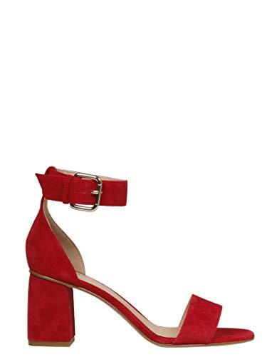 Camoscio Red Donna Valentino Rq2s0a47nxgd05 Sandali Rosso xwxqW0HFO