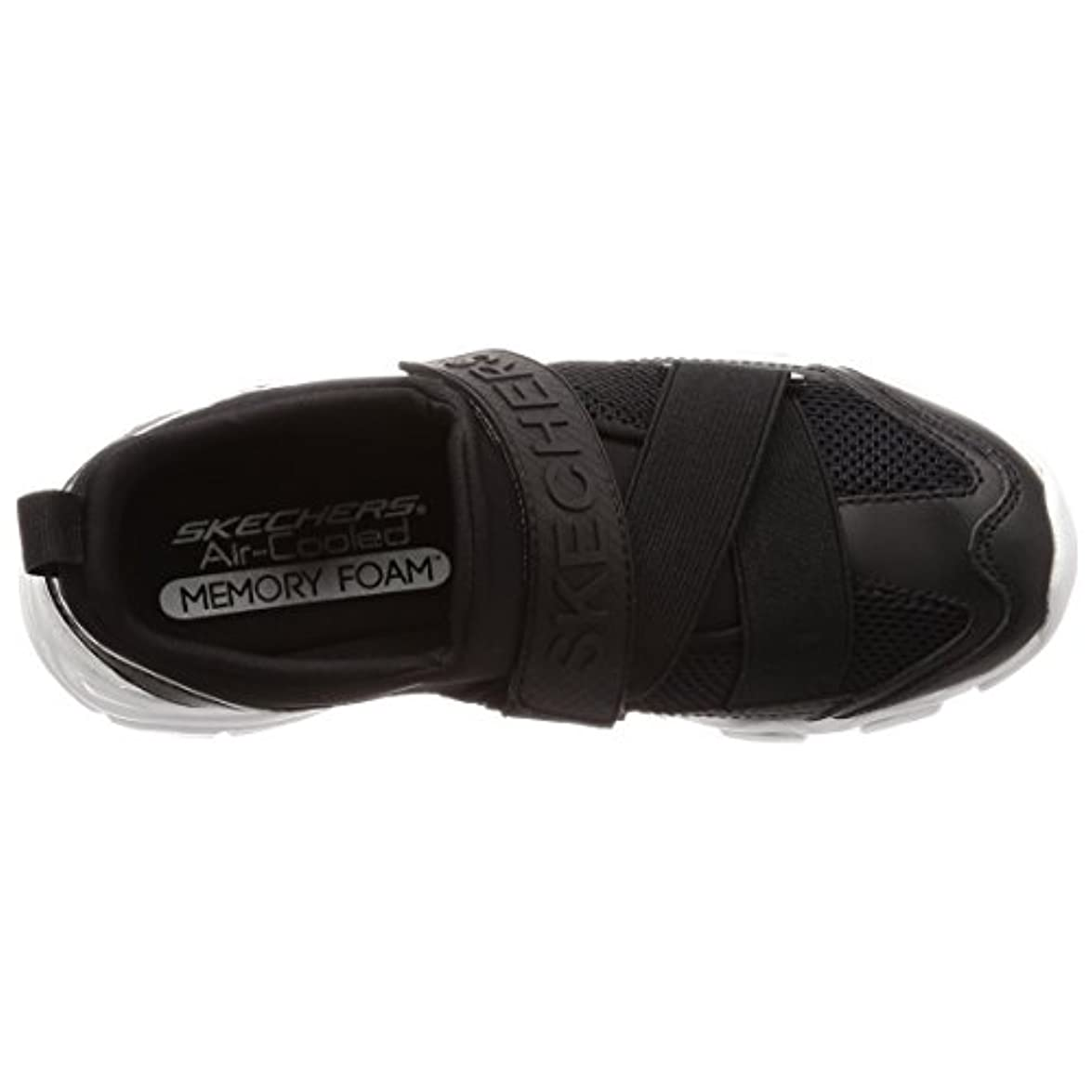 Scarpa Donna Skechers Fast Look 88888016 Blk Nero