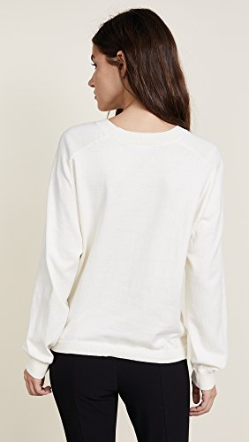 Vince Women's Tie Waist Crewneck, Cream, Small by Vince (Image #3)