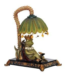 Sterling Home 91-740 Sleeping King Frog Table Lamp