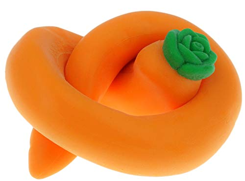 JA-RU Stretchy Banana, Carrot and Poopster (36 Total in 3 Display Boxes) Plus Bouncy Ball Stretches Long, Soft, Delicious. 12x6448-3340-3342p by JA-RU (Image #4)