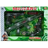 DDI 2128310 5 Piece Toy Military Play Set - Green Camouflage