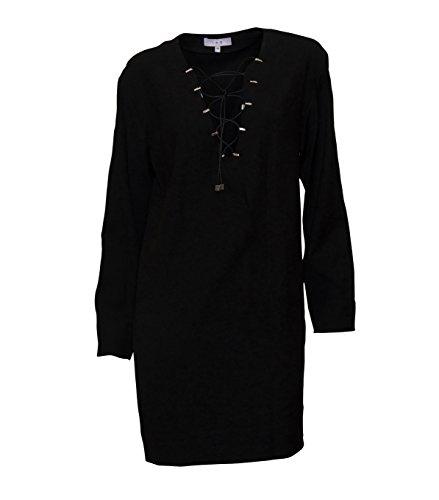 IRO Damen Kleid Ancie in Schwarz Bla01 Black BybO9yk