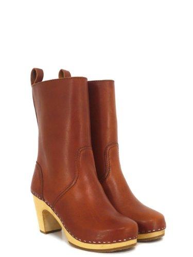 d642db42d67 Swedish Hasbeens 478 Cognac Boots 7  Amazon.co.uk  Shoes   Bags