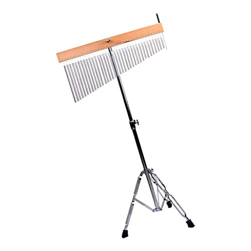 D DOLITY 36-Bar Chimes Percussion Instruments with Mounting Stand and Stick