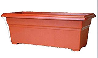 product image for Novelty 16245 Countryside Flower Box, 24-Inch, Terracotta