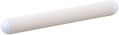 MoGist Non-Stick Polyethylene Rolling Pin 27 cm Pizza Cake Pie Crust Pastry Flatbread Dough Roller Portable Rolling Pin White Kitchen Supplies Bakers Professional Baking Tool
