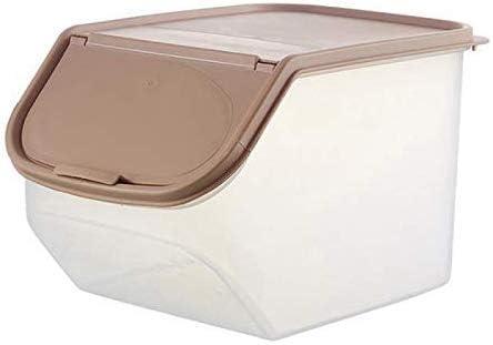 Jsmhh Secado Caja de Almacenamiento de Alimentos Sellado con medición de Cereales Copa de plástico de