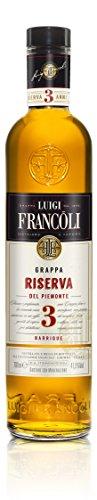 Francoli Grappa Riserva 3 Anni mit Geschenkpackung (1 x 0.7 l)