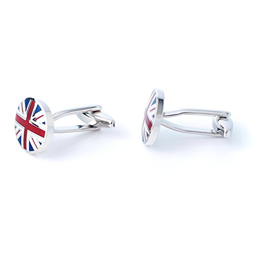 Anfly Official England British Flag Cufflinks lag Wedding Dress Shirts Cufflinks for Men by Anfly (Image #3)