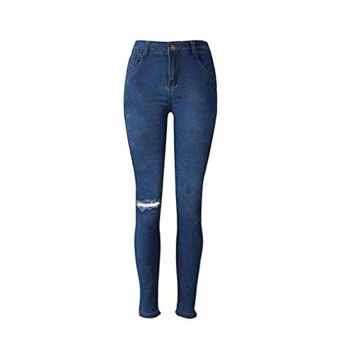 Jeans,UPLOTER Women Fashion Denim Slim Jeans Stretch Pencil Trousers Long Skinny Pants