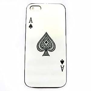 GOG- Poker Pattern Hard Case for iPhone 4/4S