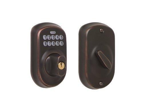 Schlage Be365 V Ply 716 Plymouth Keypad Catenaccio, invecchiato-1906