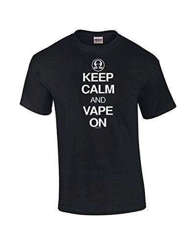 Keep Calm Vape Adult T Shirt product image