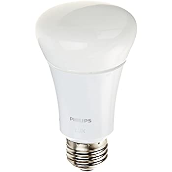 Philips Hue Lux A19 60W Equivalent Dimmable LED Smart Bulb (Older Model, Works with Alexa, Apple HomeKit and Google Assistant)
