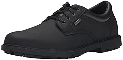 ROCKPORT Men's Storm Surge Water Proof Plain Toe Oxford Black 7 M (D)-7 M