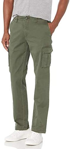 Amazon Brand - Goodthreads Men's Straight-Fit Vintage Comfort Stretch Cargo Pant
