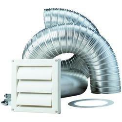 DEFLECTO Product-DEFLECTO SK8WF Supurr-Flex 8-ft Dryer Vent Kit ()