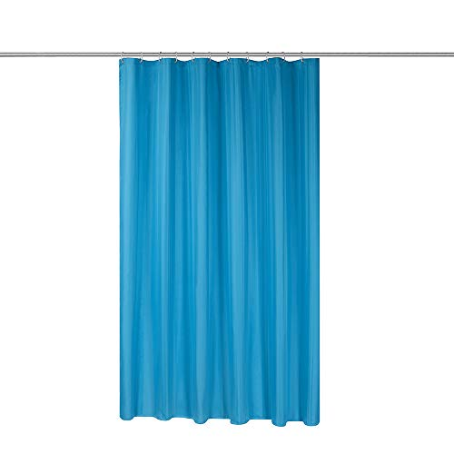 Simple&Opulence Shower Curtain Set with Hooks Waterproof Water-Repellent