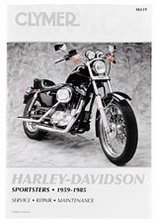 Clymer Repair Manual For Harley Sportster Xlhxlchxl 59-85 2