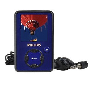 Philips GoGear SA3020 2GB USB 2.0 MP3 Digital Music/Video FM Player & Voice Recorder w/1.5