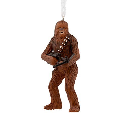 Hallmark Christmas Ornaments, Star Wars Chewbacca With Bowcaster Ornament -
