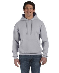 percotton Adult Hooded Sweatshirt (Athletic Heather) (L) (Fruit Of The Loom Hoodies)