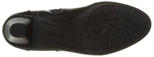 Clarks Denny Diva - Botas de cuero Mujer Negro (Black Leather)