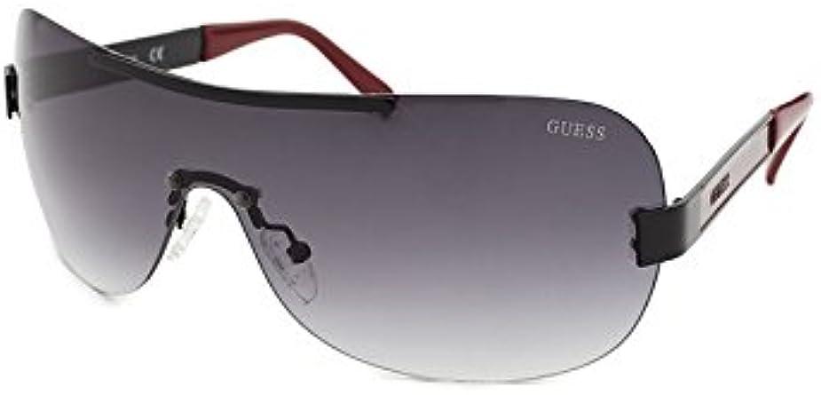 : Guess GF 0162 01B Shield Rimless Grey Gradient