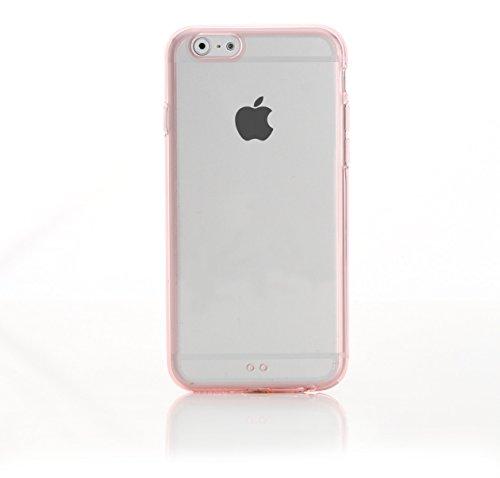 ArktisPRO 1123703 ArktisPRO iPhone 6 Plus Cushion Clear Case glasklar rosa